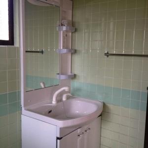 プチホワイトハウス in 西原 洗面室