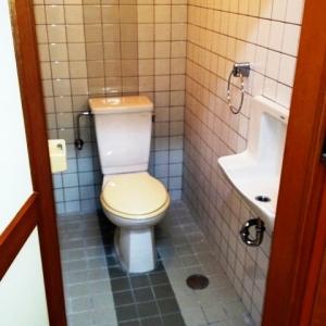 窓際ベンチシートCafe気分。 トイレ