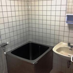 窓際ベンチシートCafe気分。 浴室