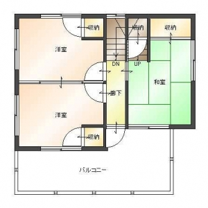 一家団欒ハウス    2F平面図