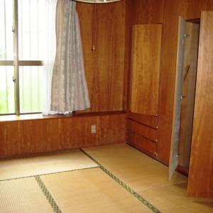 レンガ壁の大きな家 和室①