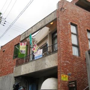 レンガ壁の大きな家 レンガ壁②