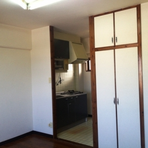 水平線ノムコウ  部屋とクローゼットとキッチン