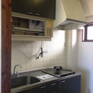 水平線ノムコウ  キッチンと小窓
