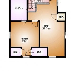 店舗付住宅 in HAMBY! 3F:平面図