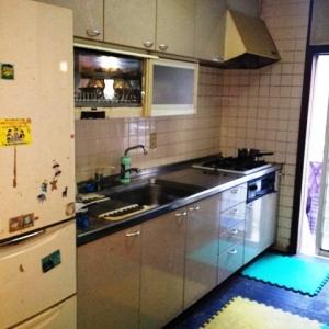 店舗付住宅 in HAMBY! キッチン