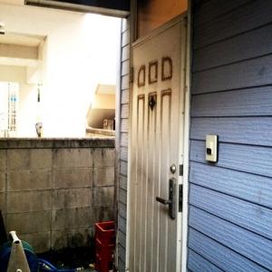 店舗付住宅 in HAMBY! 玄関