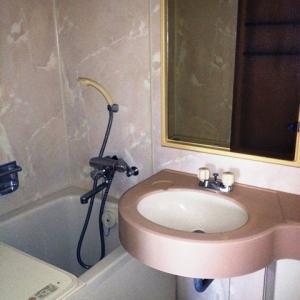 持たない贅沢、シングルライフ 洗面台+バスタブ