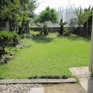 二世帯住宅大作戦! 自慢の庭