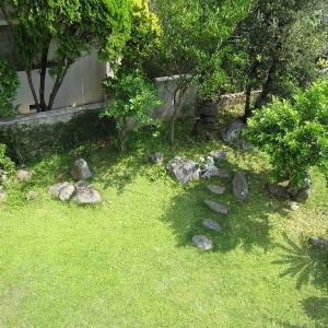 二世帯住宅大作戦! 2Fからの自慢の庭