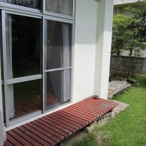 二世帯住宅大作戦! 1F:洋室の縁側