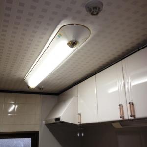 La・La・Laメゾネットハウス♪ キッチン照明