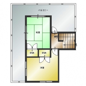 プチホワイトハウス in 西原 2F:現況平面図
