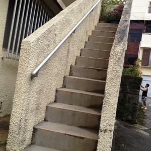 Around『首里劇場』 ~2Fへの外階段