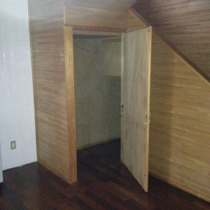 一家団欒ハウス  階段下収納