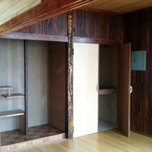 借地 de一戸建て。 床の間+収納