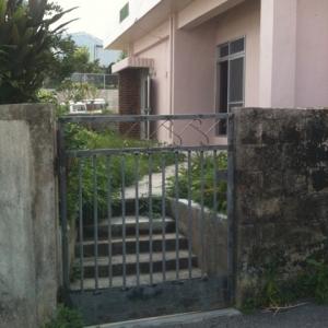 借地 de一戸建て。 門