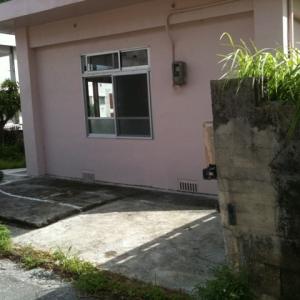 借地 de一戸建て。 駐車スペース