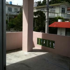 借地 de一戸建て。 2F:バルコニー