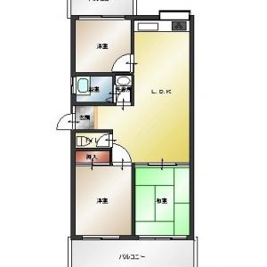 マンション・オン・ザ・ヒル 現況平面図