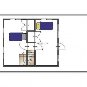 借地 de一戸建て。リフォームプラン平面図:2F