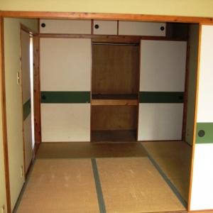 城下町の低層マンション①  和室+収納