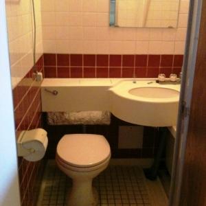城下町の低層マンション①  トイレ
