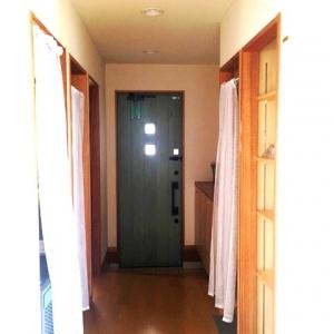 片流れヤネ! 玄関~廊下