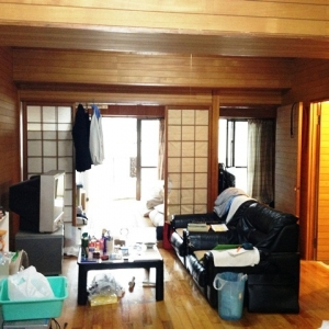 マンション・オン・ザ・ヒル リビング~和室+洋室