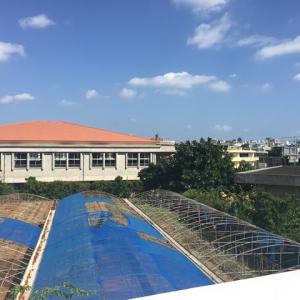 こちら安慶田小学校前宿泊所