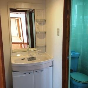 ハーフ&ハーフ 洗面室+トイレ