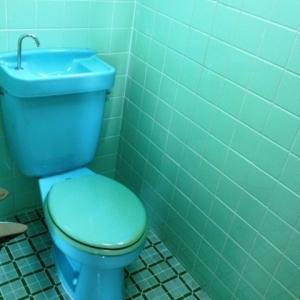 ハーフ&ハーフ トイレ